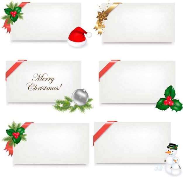 Christmas Gift plain greetings cards about Holiday card design