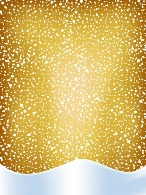 Christmas golden Holidays snow background about pattern of Christmas