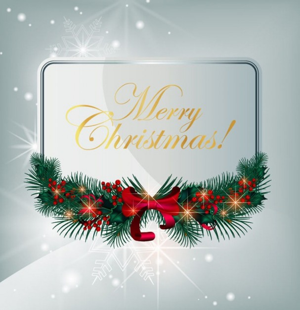 Christmas Greeting card greeting card graphic about Holiday Shopping