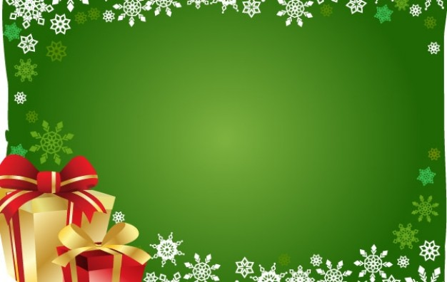 Christmas holiday gift and background about snowflake and Gift box