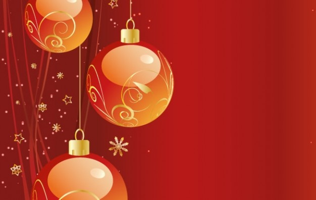 Christmas Holidays background about Opinions balls
