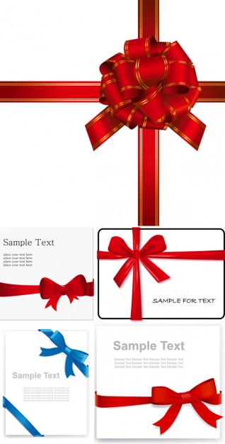 Christmas practical Gift ribbon bow about gift wrapping Ribbon