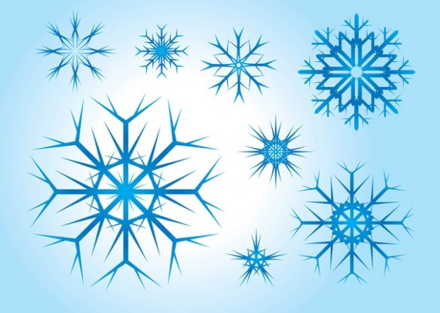 Christmas Snowflake vectors about Arts