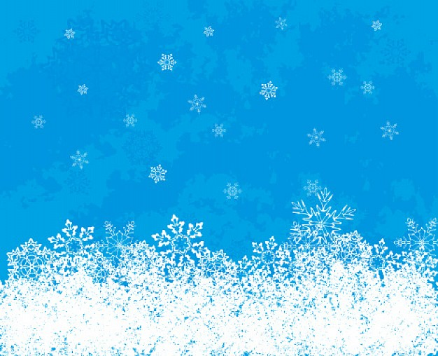 Christmas snowflakes staked on bottom of blue background about Crafts Holidays