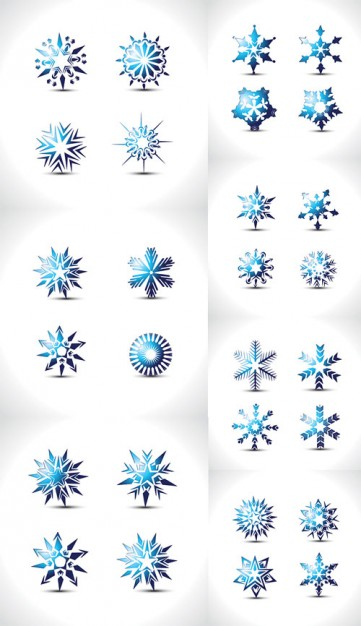 Christmas special Snowflake about winter elements