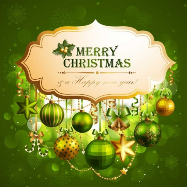 Christmas the Holidays exquisite christmas theme elements material about Opinions card design