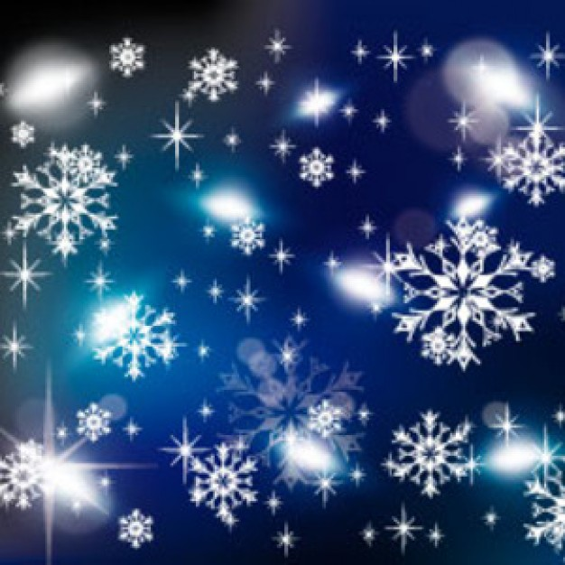 cold Military winter graphic about snowflakes blue background