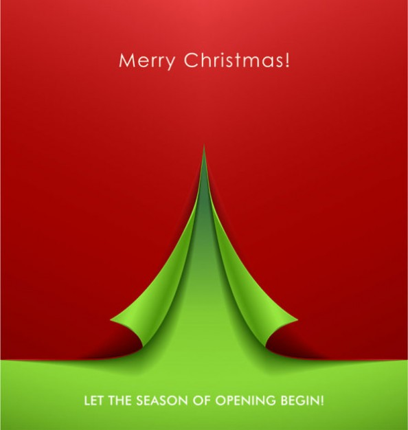 exquisite volume angle background in red and green for merry Christmas