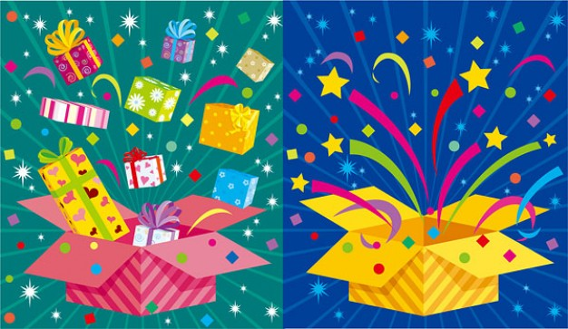 Gift fun Christmas holiday gifts material about firework and gift
