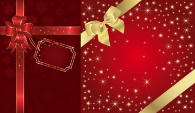 Gift wrapping festive Gift packaging background gold red star bright gift smart cute beautiful about
