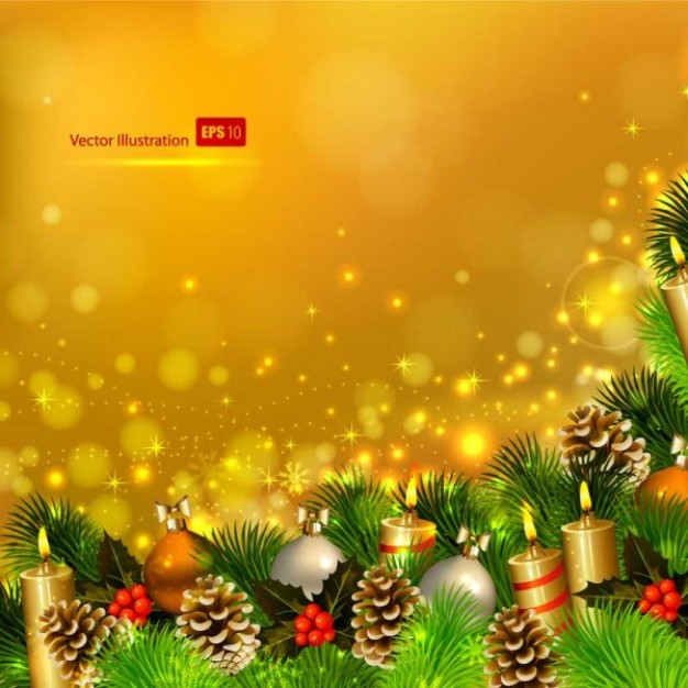 golden style Christmas tree exquisite christmas theme elements about Pine holiday