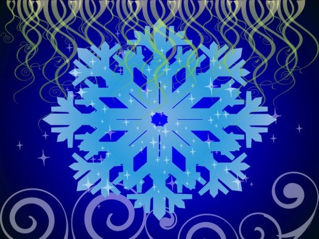 Navy snowflake wallpaper about Blue Christmas pattern