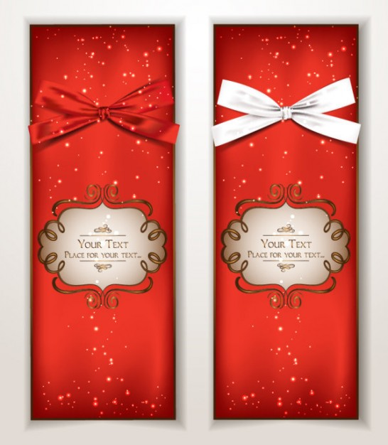 red Banner text Berry banner with ribbon about Crafts Arts