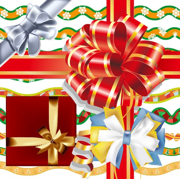 Ribbon Christmas ribbon bow material about Business Consumer Goods and Services