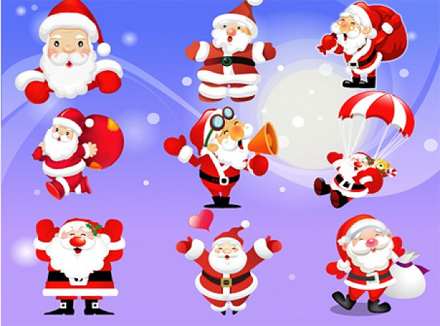 Santa Claus Christmas claus about Holidays Christmas elements