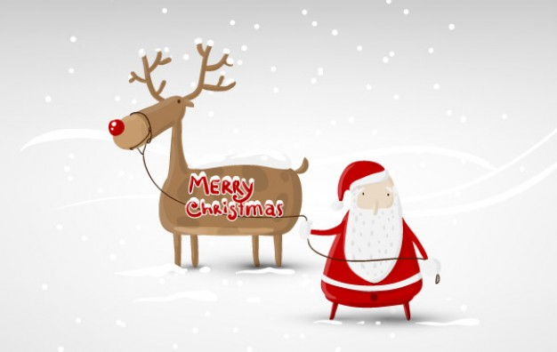 Santa Claus santa Christmas claus design about deer Holiday Claus