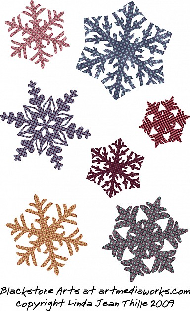 Snowflake artistic Christmas snowflakes vectors about Christmas element