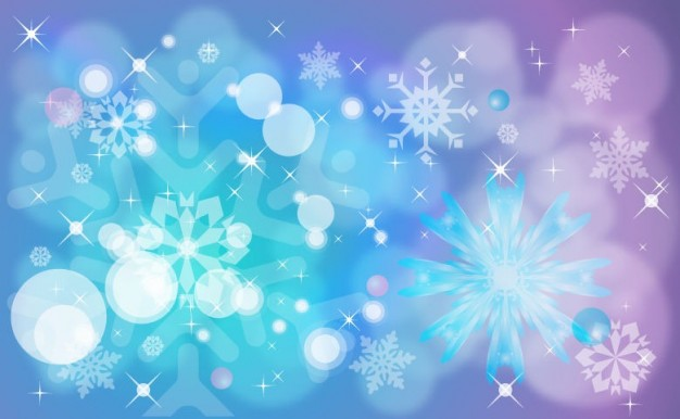 winter Christmas style background graphic about Holiday Snowflake