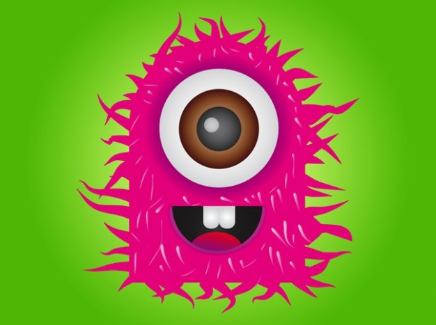 Atlantis pink Earth monster of one eye about Video Games Graphical Adventures