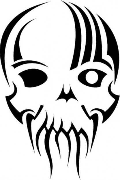 Clip art tribal Graphics mask skull clip art about Retailers Skull