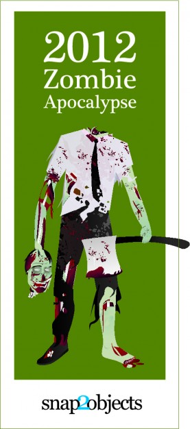 Zombie scary Arts zombie holding an axe about Horror movie