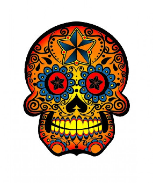 chocolate the food trend of color skull material about tatoo clip art