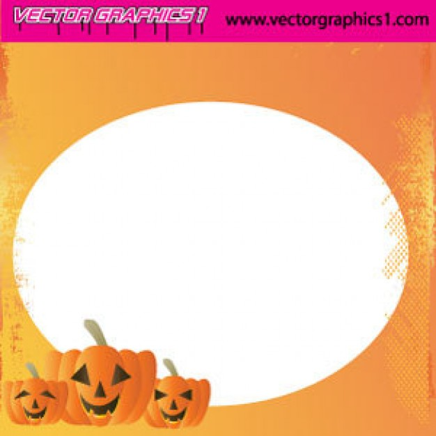 Greeting card halloween Holiday art greeting card with orange background about Christmas Facebook