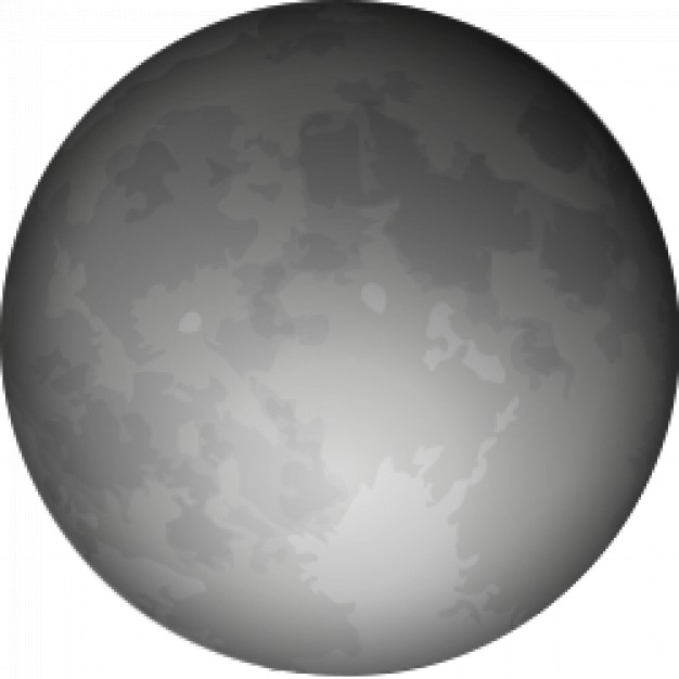 halloween full moon with grey color