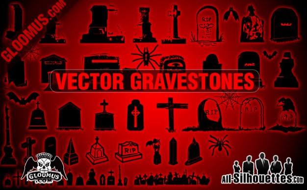 Halloween gravestones Headstone with red background about Holidays Opinions