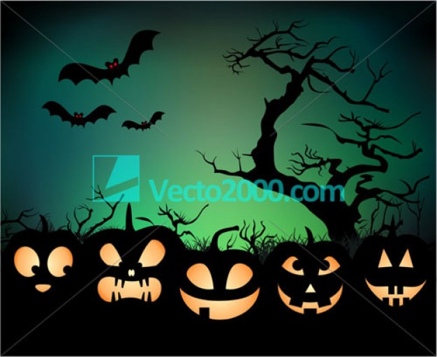 Halloween Holiday night background with pumpkin lamp about Pumpkin Graphics