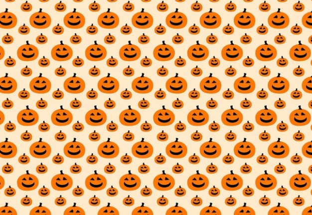 Halloween pumpkin pattern with pink about Holidays Jack-o'-lantern