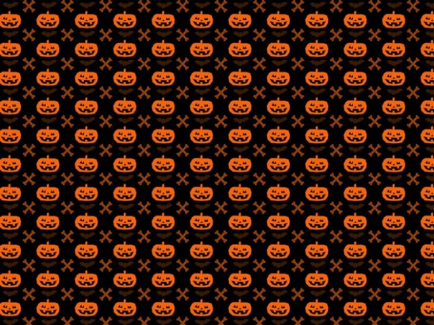 Halloween Pumpkin seamless pattern background with about Jack o Lantern Holidays