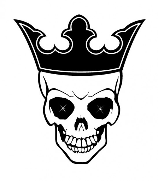 Race and ethnicity Census king Religion and Spirituality skull with crown background about History S