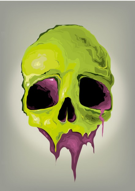 Skull and Bones liquid Human skull with grey background about Skull Thomas Aquinas