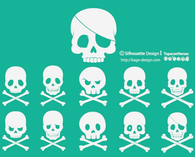 skulls Caribbean with blue background about Travel and Tourism Language