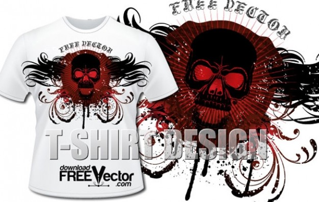 T-Shirt template Chocolate t shirt design about halloween T-shirt style