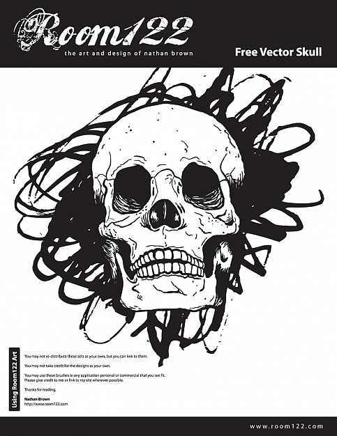Wacom is a skull drawn with wacom tablet about tablets Graphics tablet
